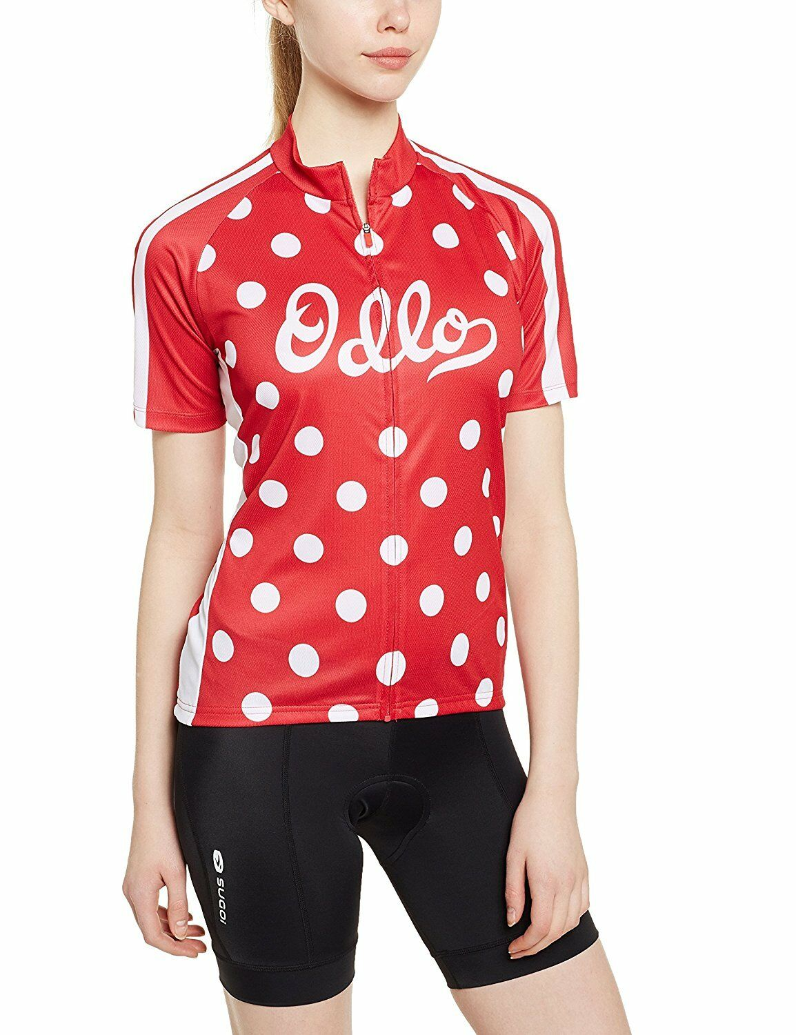 Odlo Mujer ciclismo Camiseta [Talla M L XL ] Stand-Up Collar