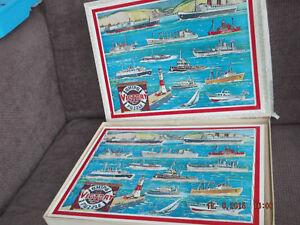 2019 DernièRe Conception Vintage Années 1960 Navires Victoire Puzzle No. V.s.3 - Wooden Jigsaw Puzzle-excellent-afficher Le Titre D'origine