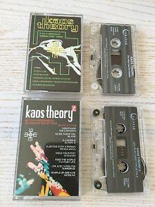 Kaos-Theory-2-x-Cassette-Album-Tapes-1-amp-2-Hardcore-House-Trax