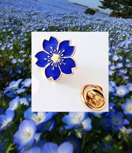 "READ the STORY MASONIC Flower /""Forget Me Not/""  FREEMASON Lapel PIN hat"