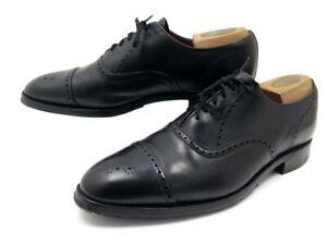Fleuri Black Leather 5 Chaussures Détails Sur Noir 305€ Bout Richelieu 44 Shoes Bowen Cuir SMVGzqUp