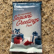 Cards Against Humanity 2017 Seasons Greetings Pack Christmas Holiday
