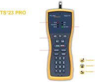 New Fluke Networks Ts23pro Linemans Telephone Test Butt Set With Abn Clips