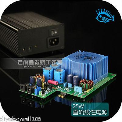 XMOS TALEMA Linear Power Supply 25VA 18V@1.5A Dual DC Port Ultra-Low Noise HIFI
