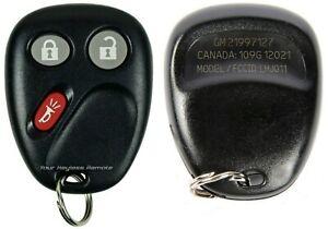 Key For 2003 2004 2005 2006 Chevrolet Silverado Models Keyless Entry Remote