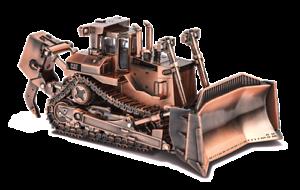 Dcm85517 - Finition cuivre Bull D11t 1/50