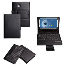 BLUETOOTH KEYBOARD LEATHER CASE FOR SAMSUNG GALAXY TAB 3 8.0 INCH T3100 T3110