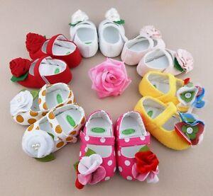 Colorful-Soft-Cotton-Blend-Sole-Baby-Girls-Toddler-Infant-PreWalker-Shoe-Booties