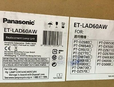 Original Phoenix Projector Lamp Replacement with Housing for Panasonic PT-DW6300