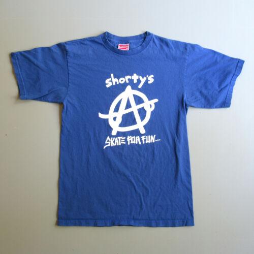 Vintage vtg 90s Shortys Skateboard Skater Anarchy