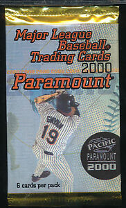 2000-Pacific-Paramount-Baseball-Lot-Of-24-Unopened-Packs-6-Cards-Per-Pack