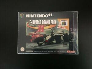 Nintendo 64 Jeu F1 World Grand Prix 2 N64 PAL Complet-Excellent état