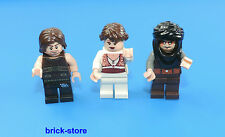 LEGO® Prince of Persia  3 Figuren / Figur Dastan /Tamina / Hassanssin Leader