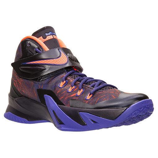 Nike Zoom Soldier VIII PRM SZ 12 Purple Hyper Crimson 688579-585 Scarpe classiche da uomo