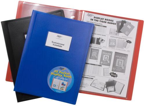 4 x Flexicover A5//A4//A3 Display Book Presentation Folder Business Portfolios