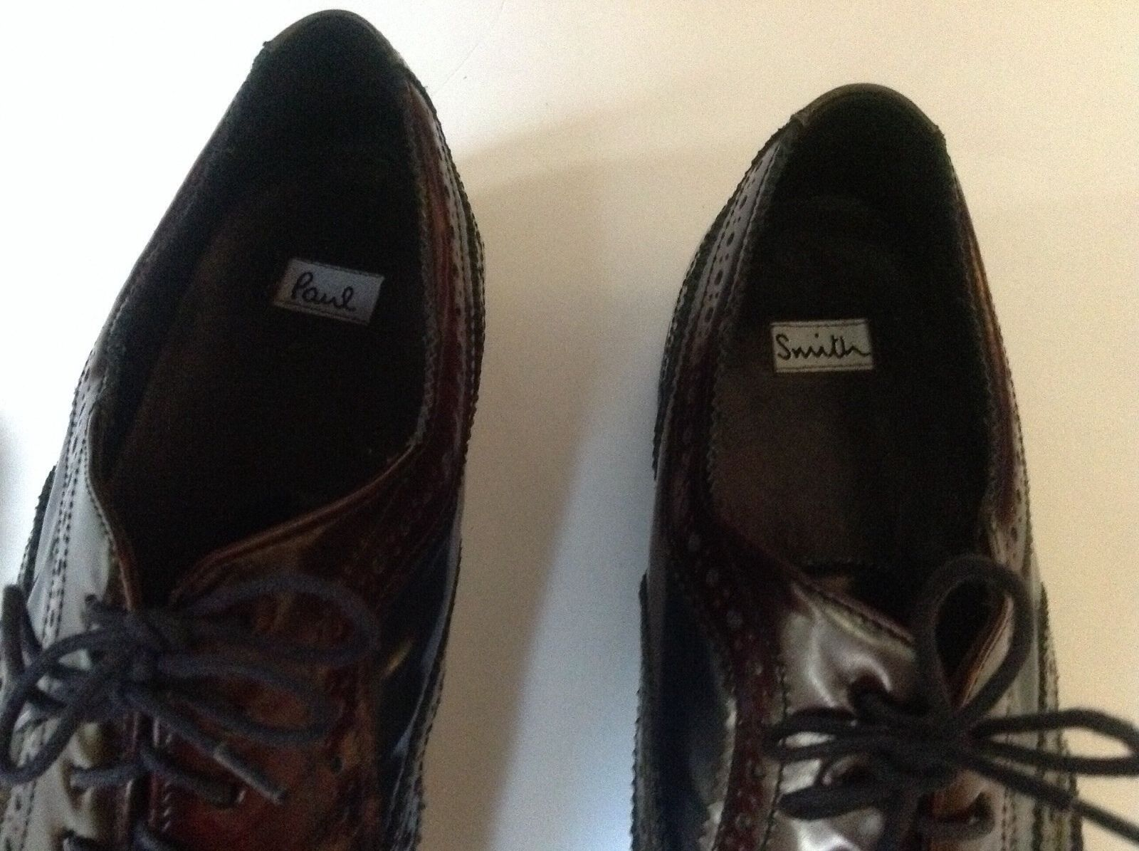 Paul Smith - TRI-COLOR PAIR of HANDCRAFTED HANDCRAFTED HANDCRAFTED WINGTIPS 10UK 44 EURO c2892c