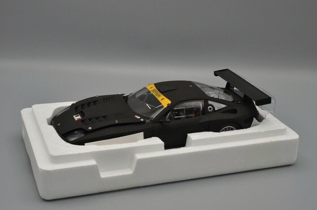 Ferrari 575 GTC Evo (Matt nero) Kyosho Ref.08392A - 1 18