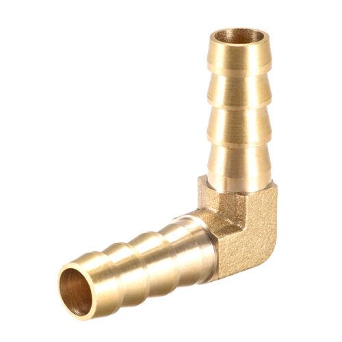 10mm Púa Latón Manguera Montaje 90 Grados Codo Tubo Conector Acoplador