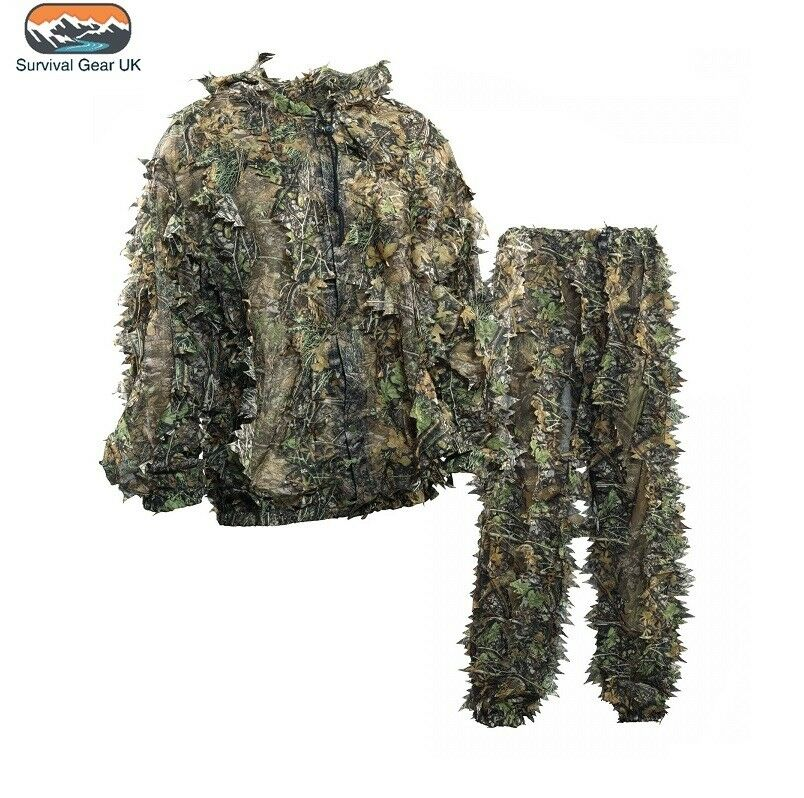 Deerhunter Innovation Ghillie Sneaky 3D 3D Sneaky Camo Shooting Pullover with Trousers 68e050
