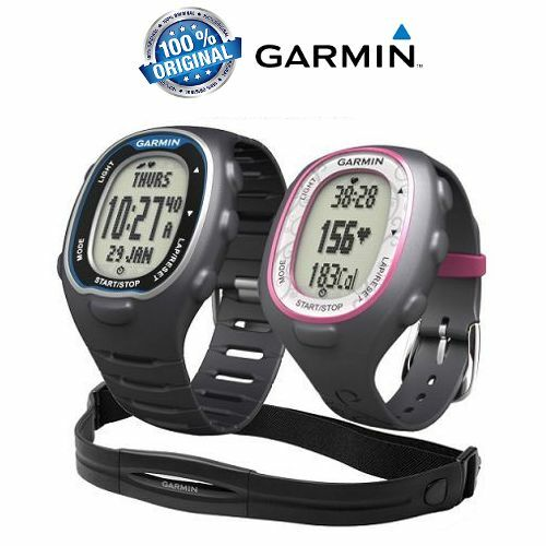 Garmin Forerunner FR70 Fitness Sportwatch with Heart Rate Monitor (Blue/Pink)
