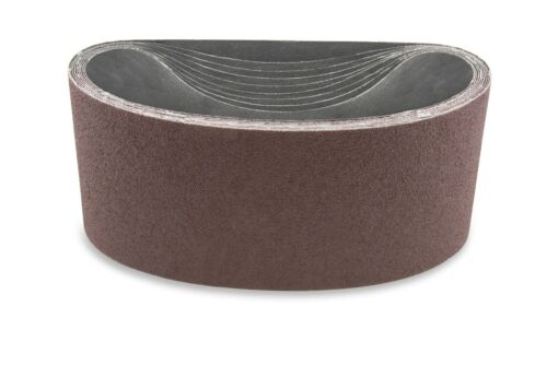 3 1//2 X 15 1//2 Inch 100 Grit Aluminum Oxide Multipurpose Sanding Belts 4 Pack