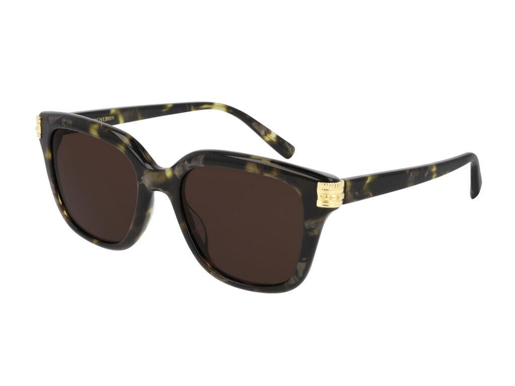 Boucheron Gafas de sol BC0100S 002 Marrón Havana Mujer