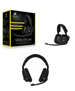 CORSAIR Void Pro RGB Wireless Auriculares De Juego X PC, sin Hilos ,Dolby 7.1 ,