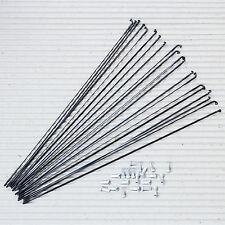 20 Stück DT SWISS Messerspeiche Aerolite 2.0/0.9 x 294 mm schwarz Alu Nippel