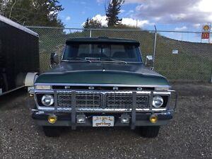 1976  Ford  F250 camper special super cab