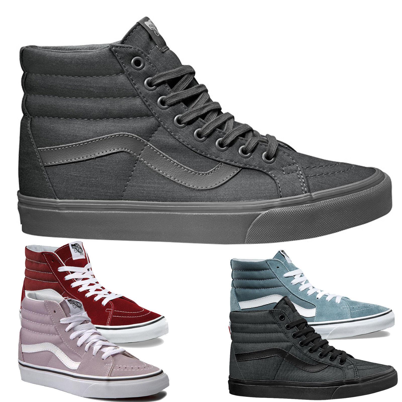 Vans - SK8-HI Skate Vans Hi-Top Sneaker Mehrere Farben NEU und Original