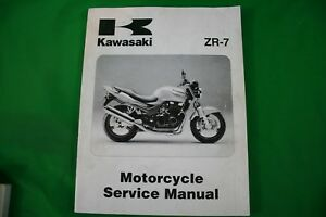 99 00 Kawasaki Zr 7 Service Manual 99924 1248 01 Ebay
