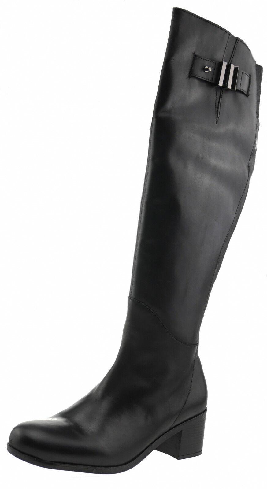 Karakool Camilla Leder Stiefel schwarz 187695