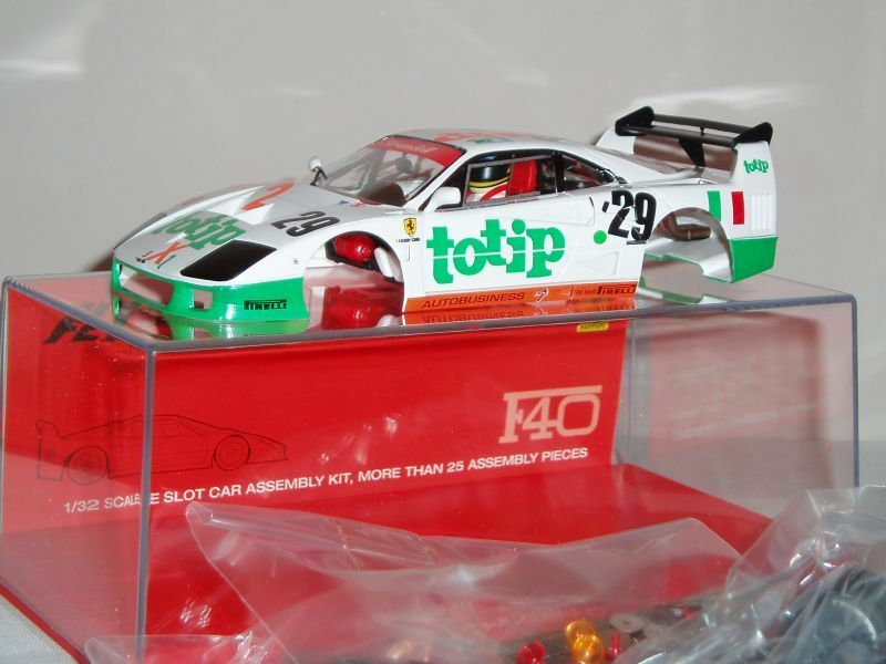 FLY 88314 Ferrari F40 24 H. Le Mans 1994 SLOT SCX 1 32