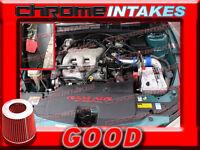 Blue Red 1997 1998 1999 2000-2003 Chevy Malibu 3.1l Full Cold Air Intake Kit 3pc