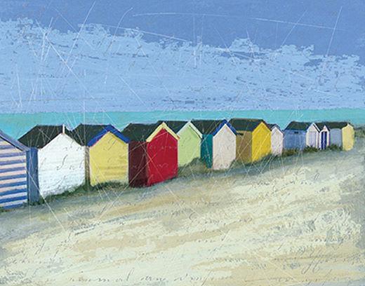 Carol Robinson  Spiaggia Huts Barella-Immagine Schermo Mare Sabbia Marittimo