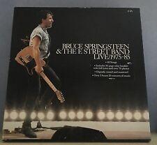 BRUCE SPRINGSTEEN Live 1975-1985 1986 UK 5 X Vinyl LP box set EXCELLENT A