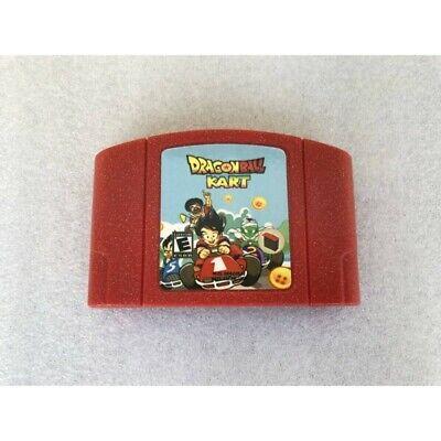 Dragonball Kart N64 Custom Hack Nintendo 64 Mario Kart Goku Dragon Ball Z NTSC | eBay