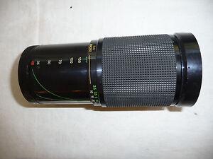 Camera-lens-for-PENTAX-SLR-VIVITAR-28-200mm-f1-3-55-3-RICOH-PETRI-PK-A-fit-R30