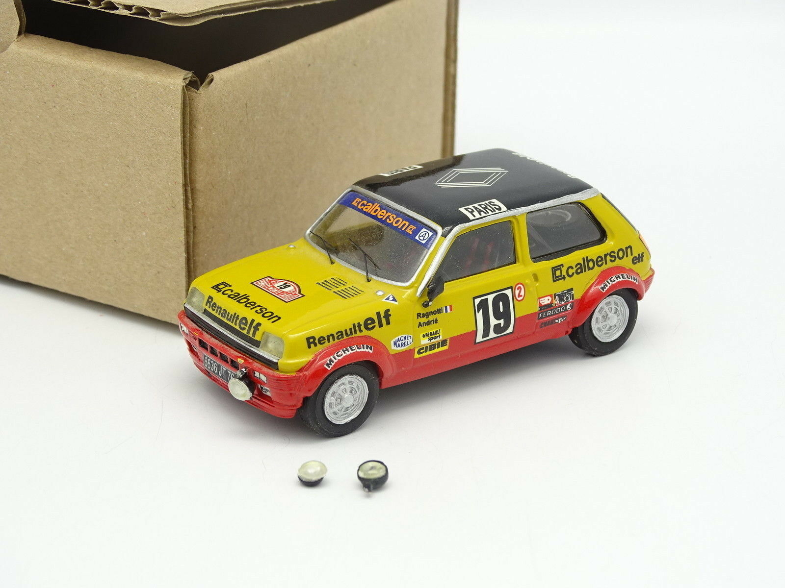 Mini racing Kit Kit Kit Assembled SB 1 43 Renault 5 Alpine Gr2 Rally Mounted Carlo 1978 89918a