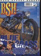 BSH THE EUROPEAN CUSTOM BIKE MAGAZINE - October 1999