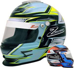 ZAMP-RZ-42Y-CMR2016-Karting-Helmet-Children-039-s-Snell-FIA-CMR-Youth-Kart-Racing