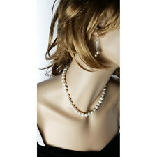 Valentine Day Gift 92.5Sterling Silver Fresh Water Cultured Pearls Drop Earrings