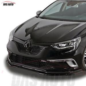 Renault-Megane-4-IV-Noir-Brillant-avant-Grille-Badge-Embleme-2016-Rs-Mf