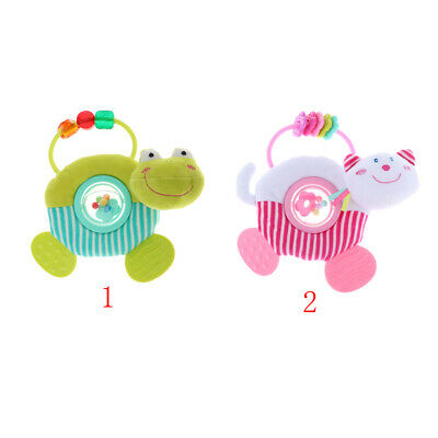 Kids Baby Rattle Infant Kids Plush Toy Doll Rattle Teether HandBell Toys LH