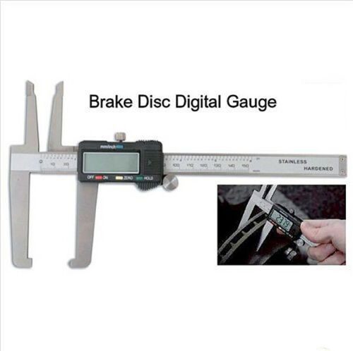 Spare bat Digital Micrometer Disc Brake Gauge Rotor SAE Metric Hardened 0.0005