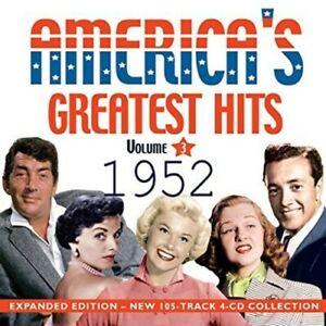ARTISTI-VARI-AMERICA-039-S-GREATEST-HITS-1952-NUOVO-CD-espansa-sviluppato
