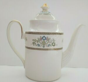 Minton-Henley-S749-5-Cup-Coffee-Pot-with-Lid-Vintage-Dishwasher-Safe