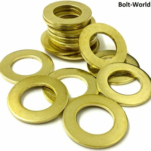 460 PIECE ASSORTED FLAT FORM A WASHERS KIT SOLID BRASS METRIC M3 M4 M5 M6 M8