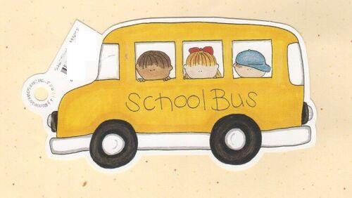 FRAME UPS DIE CUT MY MIND/'S EYE FRIENDS ON SCHOOL BUS