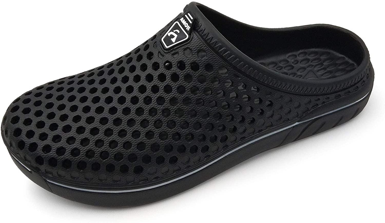 Amoji Unisex Garden Shoes Clogs Slippers Sandals White for sale online |  eBay
